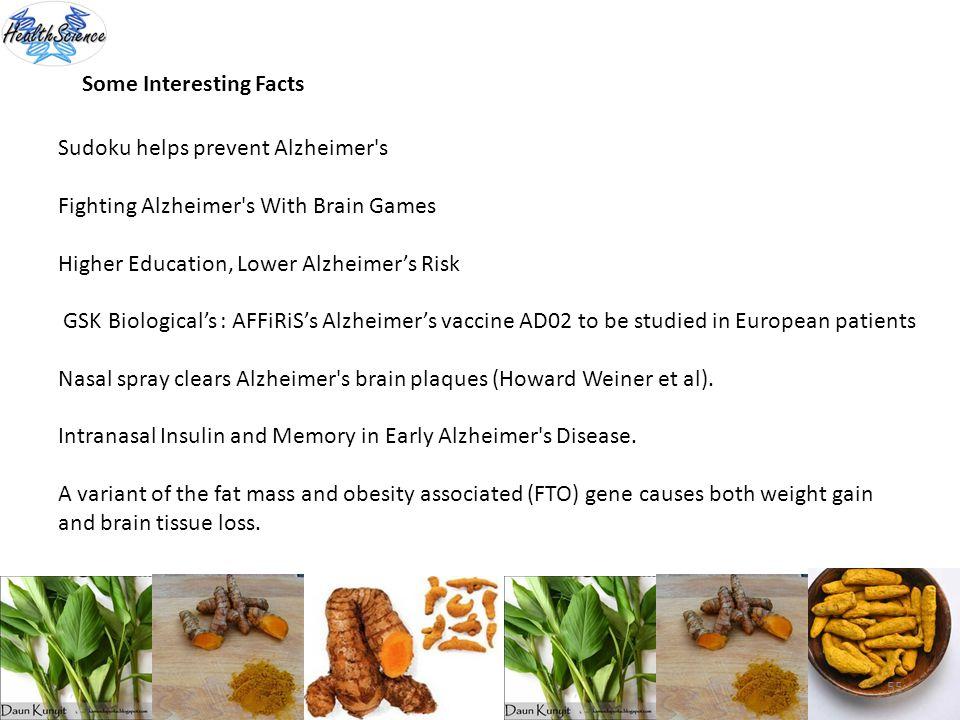 55 Some Interesting Facts Sudoku helps prevent Alzheimer's Fighting Alzheimer's With Brain Games Higher Education, Lower Alzheimers Risk GSK Biologica