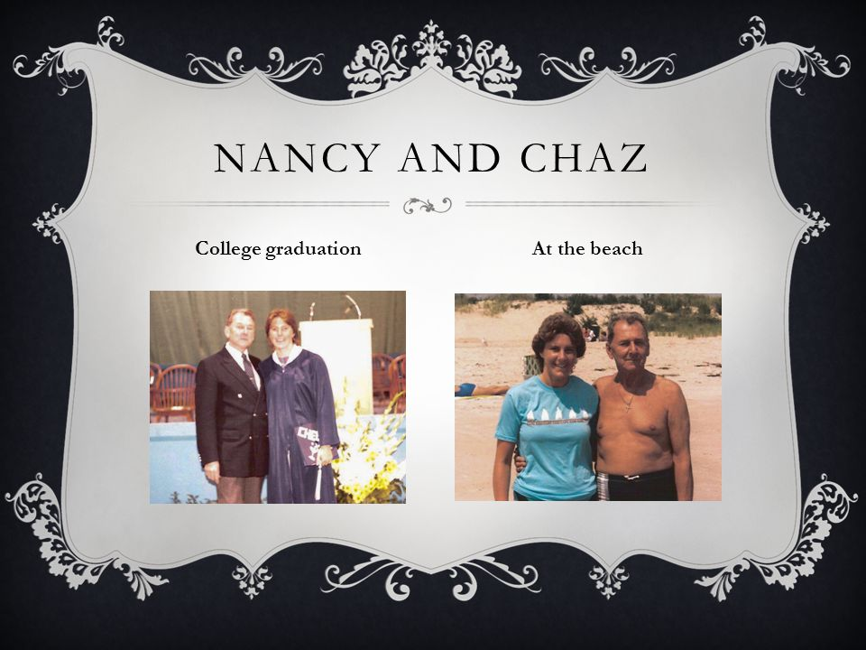 NANCY AND CHAZ College graduation At the beach