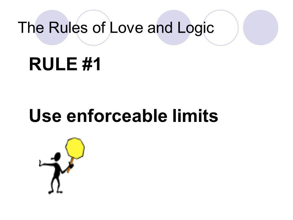 Background Love and Logic Calms the reactive brain with empathy and delayed consequences Encourages thinking skills with choices and use of problems s