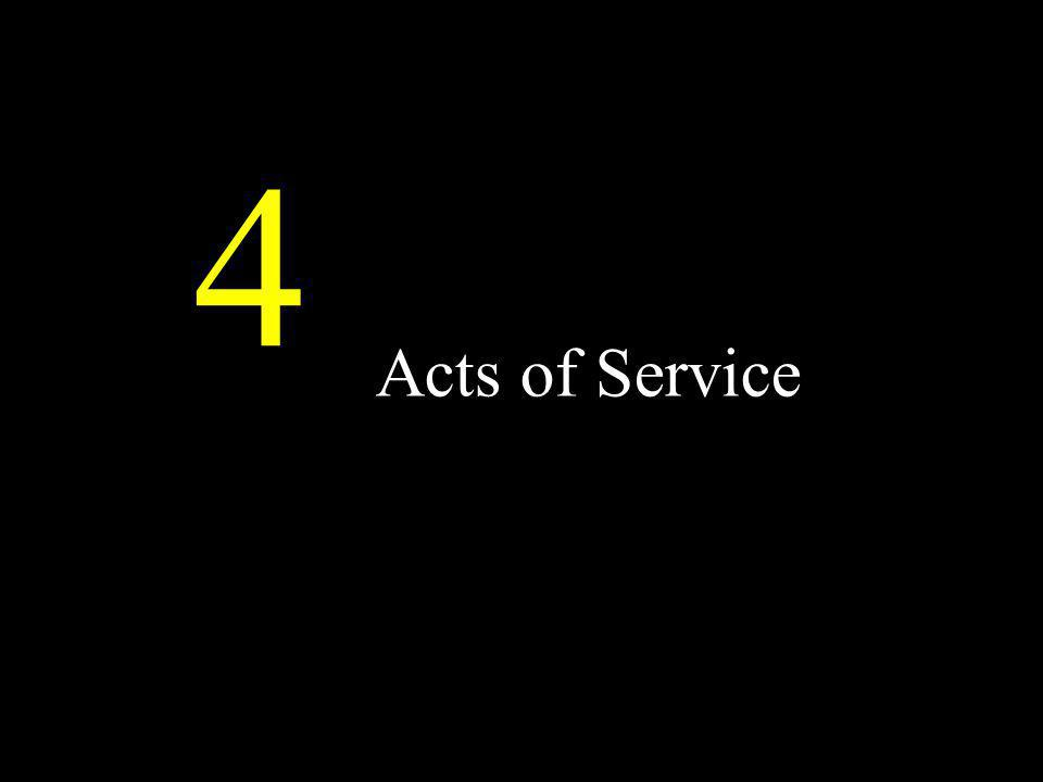 Acts of Service 4