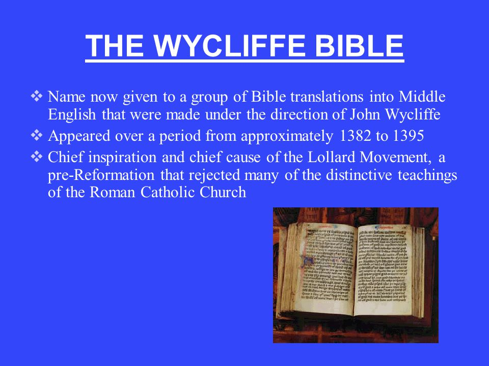 WYCLIFFE BIBLE: GENESIS …and God made sterris; and settide tho in the firmament of heuene, that tho schulden schyne on erthe, and that tho schulden be bifore to the dai and nyyt, and schulden departe liyt and derknesse.