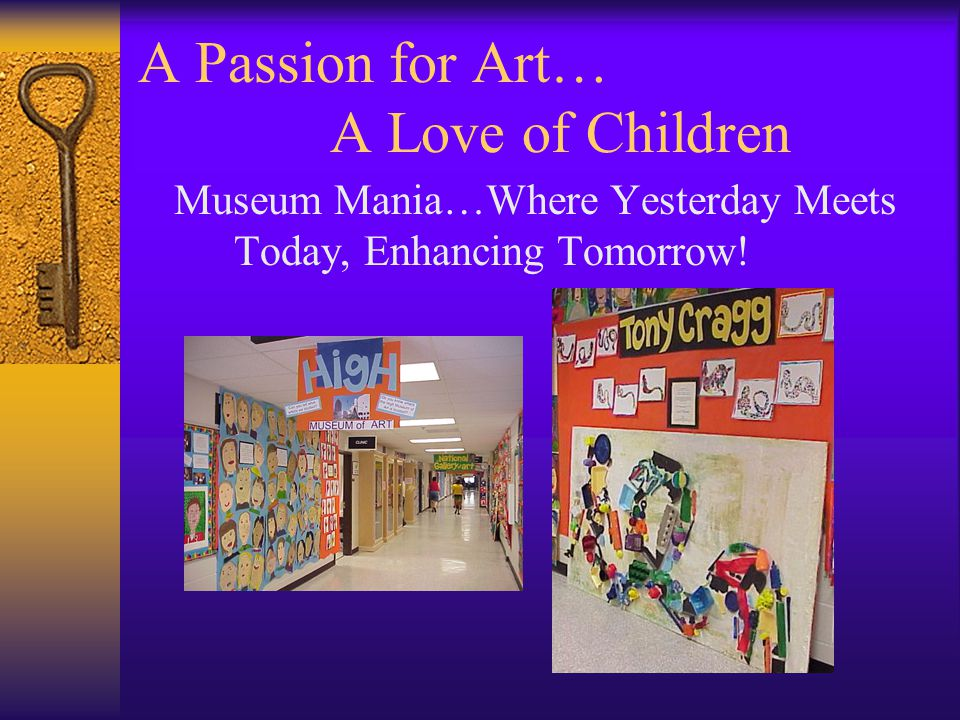 A Passion for Art… A Love of Children Thank You.