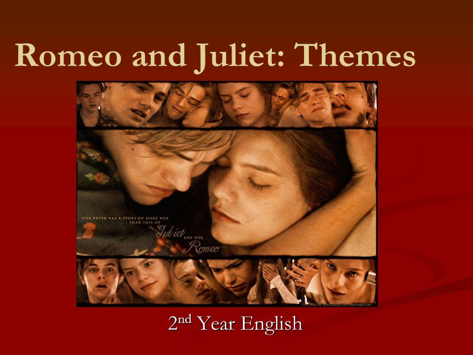 Romeo and Juliet: Themes 2 nd Year English