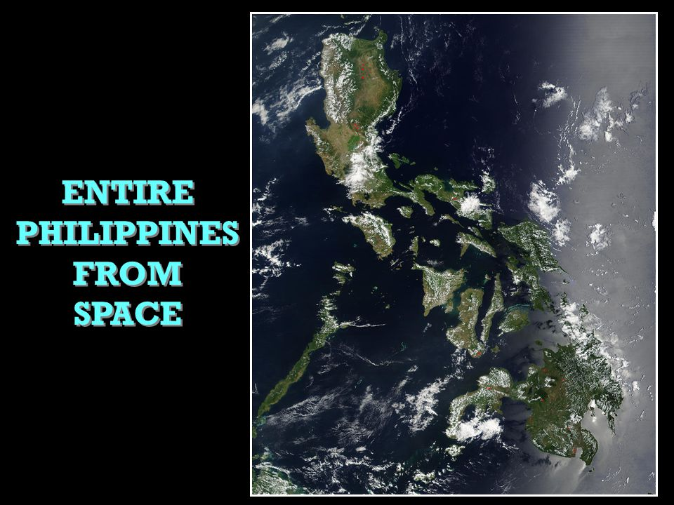 ENTIRE PHILIPPINES FROM SPACE