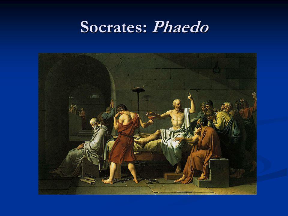 Socrates: Phaedo