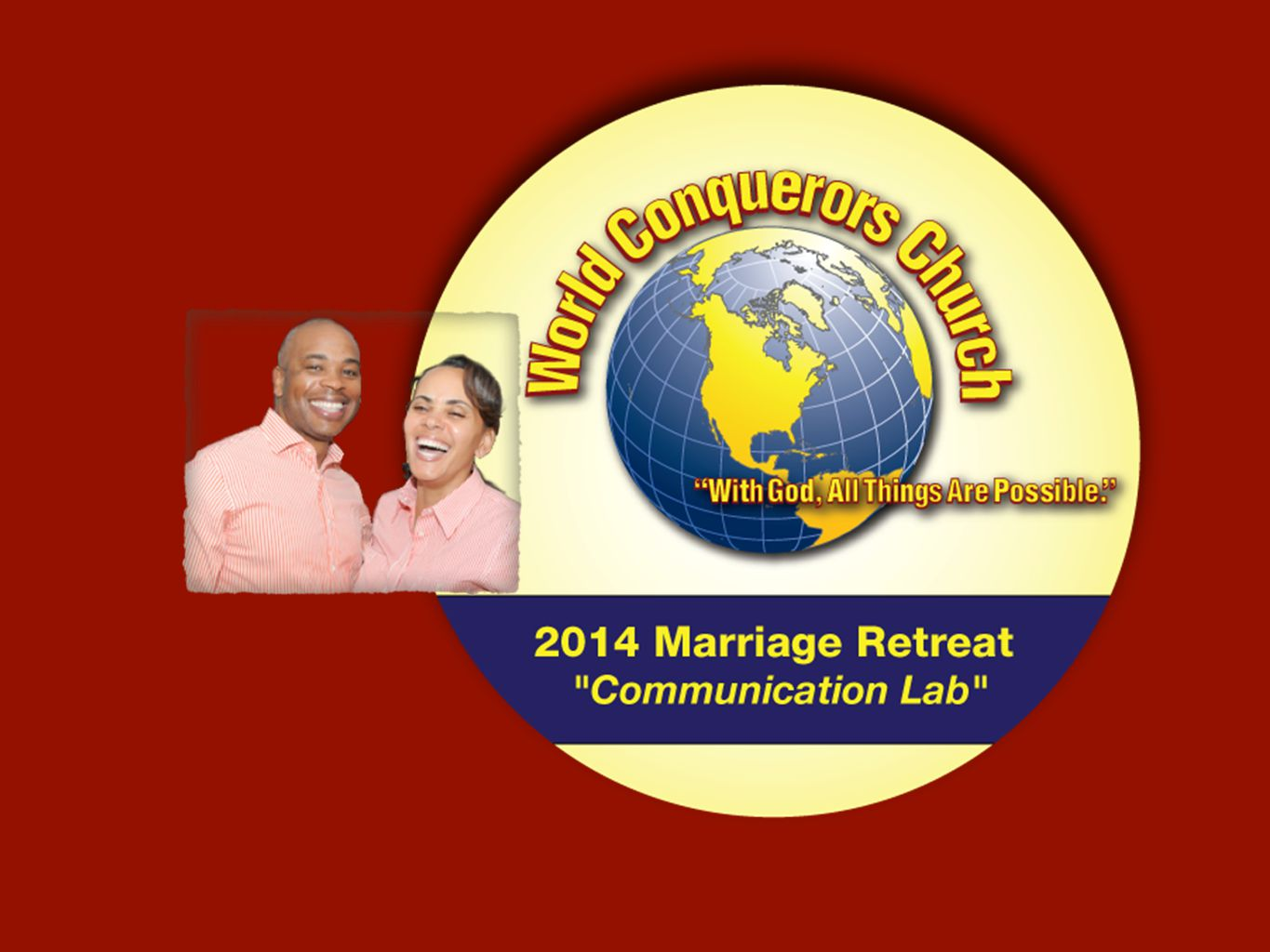 Why did you come to this marriage retreat.What do you expect to get out of this retreat.