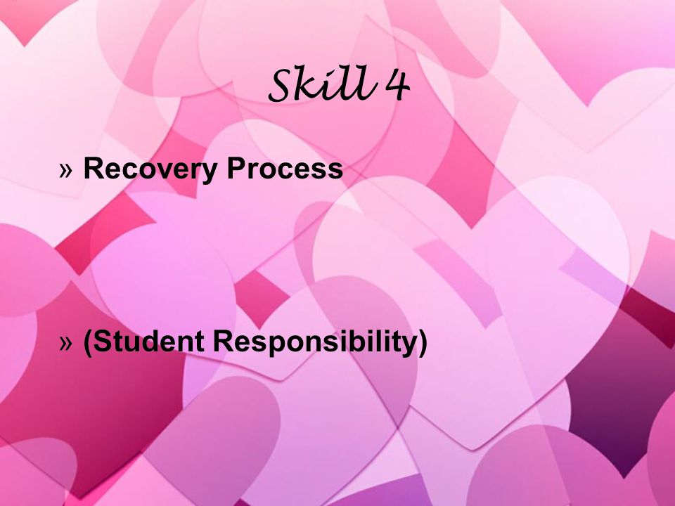 Skill 5 »Developing positive teacher/student relationships »(Teacher & Student Responsibility) »Developing positive teacher/student relationships »(Teacher & Student Responsibility)