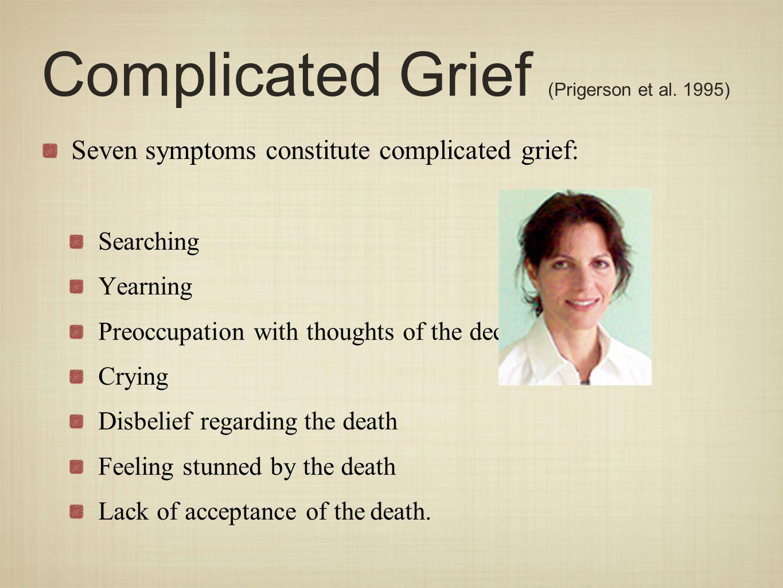 Complicated Grief (Prigerson et al.