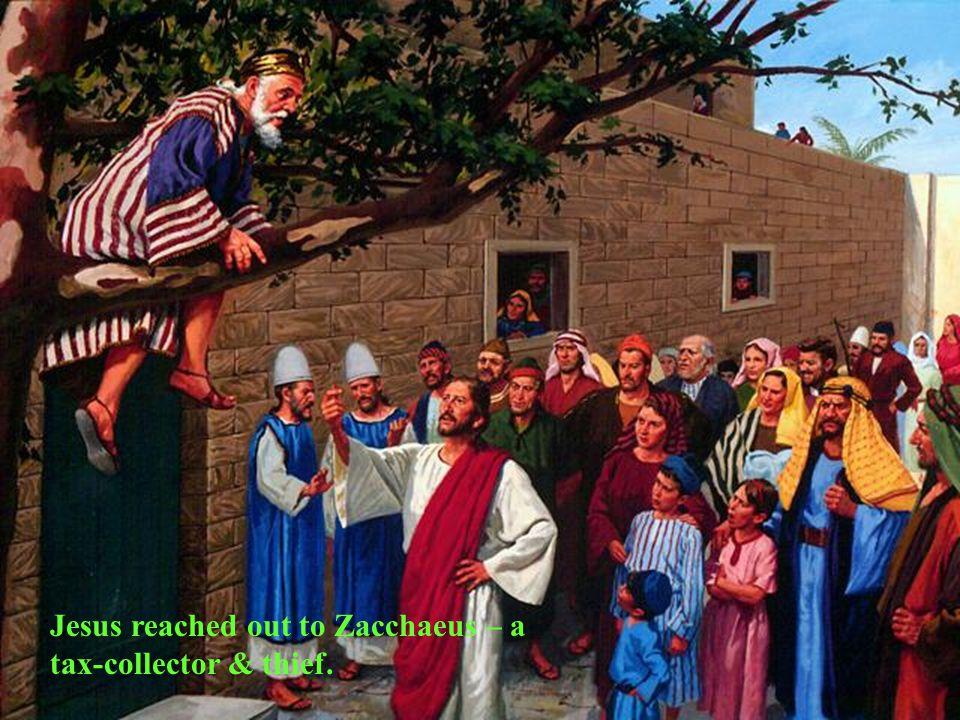 Jesus healed adults
