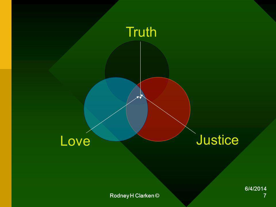 Rodney H Clarken © 7 Truth Justice Love 6/4/2014