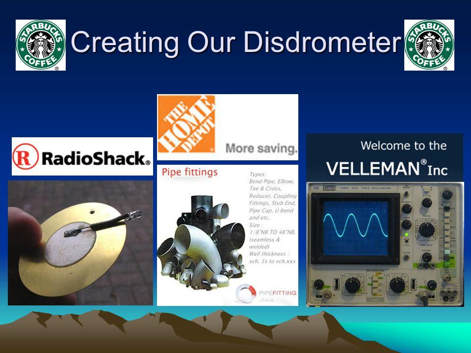 Creating Our Disdrometer