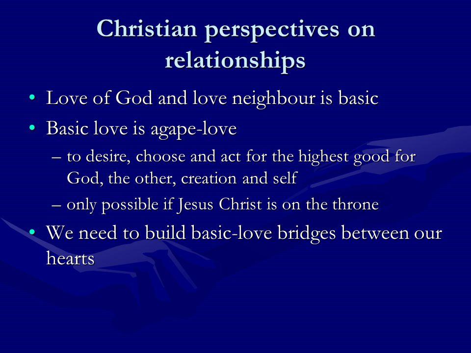 The basic-love bridge between two hearts KnowKnow TrustTrust ServeServe