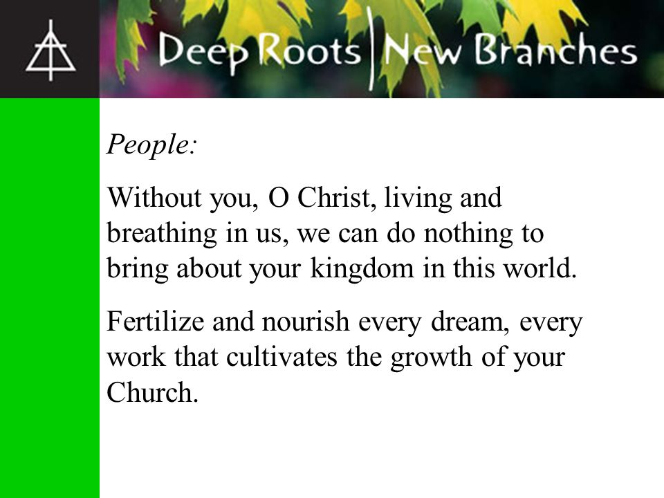 Planting Churches that Change Lives