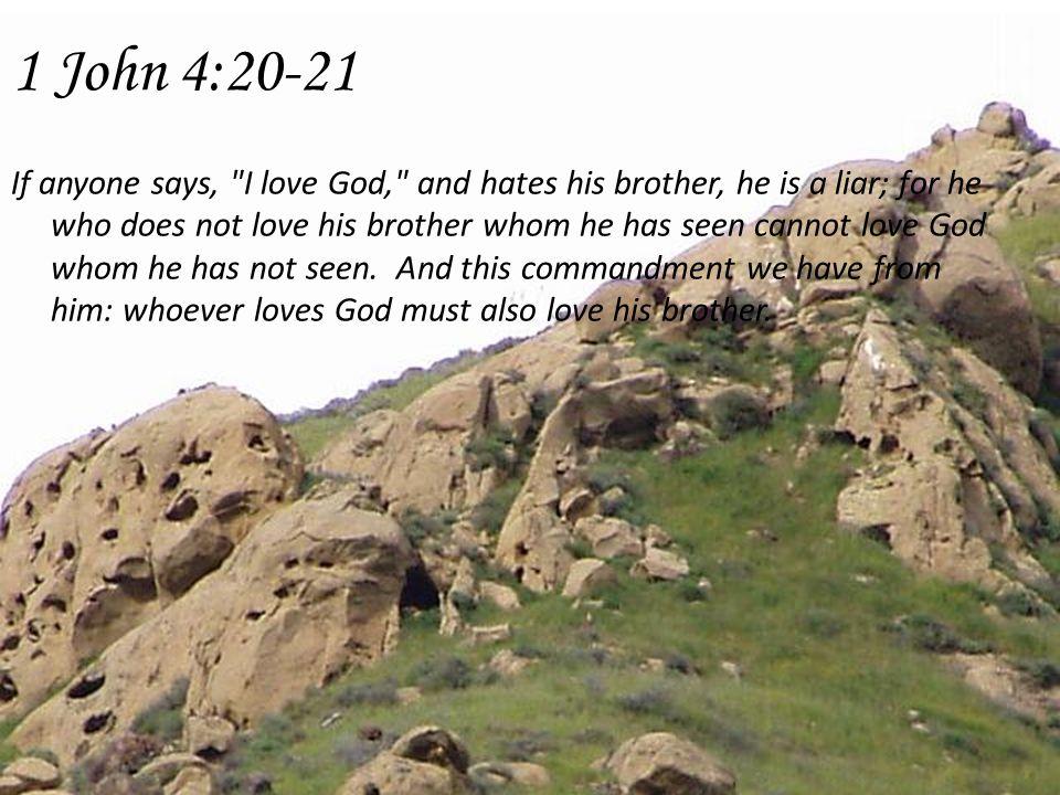 What accompanies love.