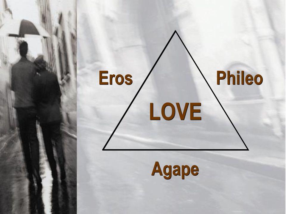 LOVE Phileo Eros Agape