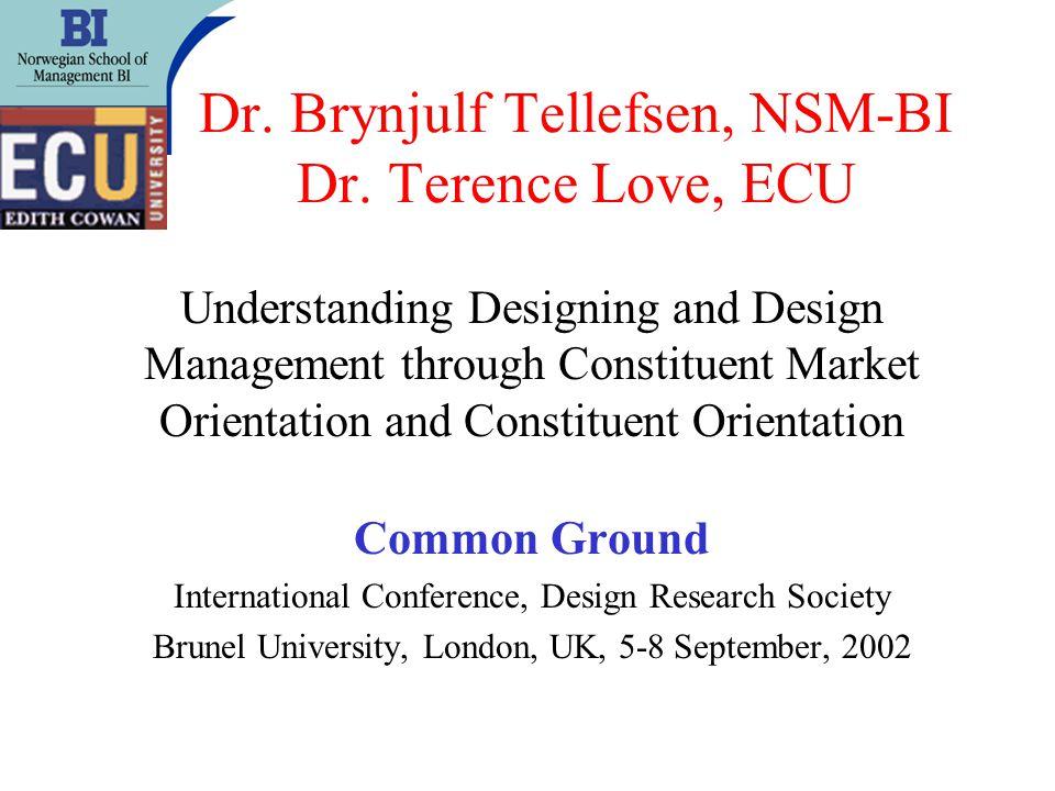 Dr. Brynjulf Tellefsen, NSM-BI Dr.