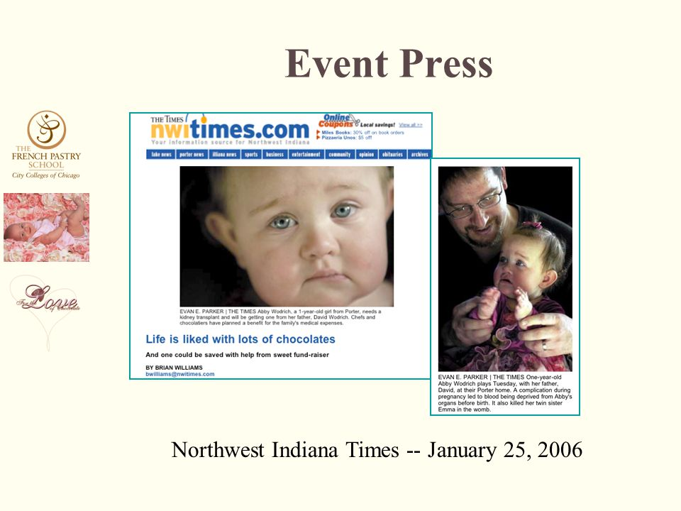 Northwest Indiana Times -- January 25, 2006