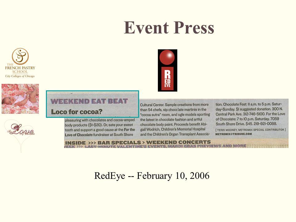 RedEye -- February 10, 2006