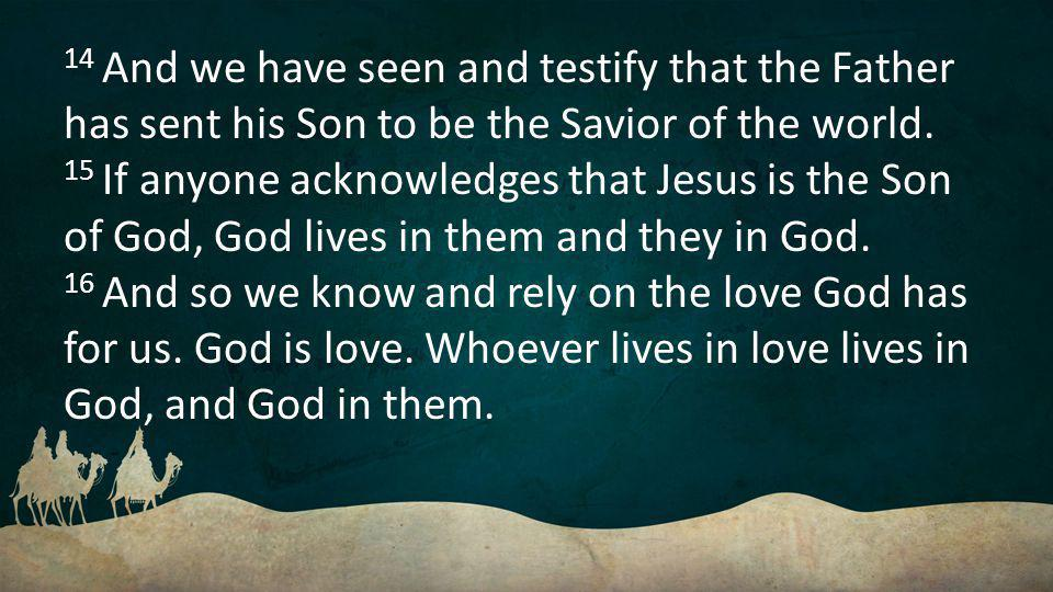 17 This is how love is made complete among us so that we will have confidence on the day of judgment: In this world we are like Jesus.