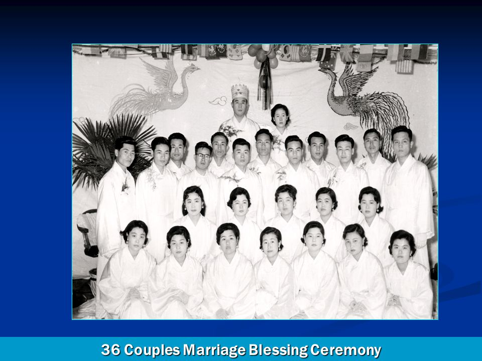 36 Couples Marriage Blessing Ceremony