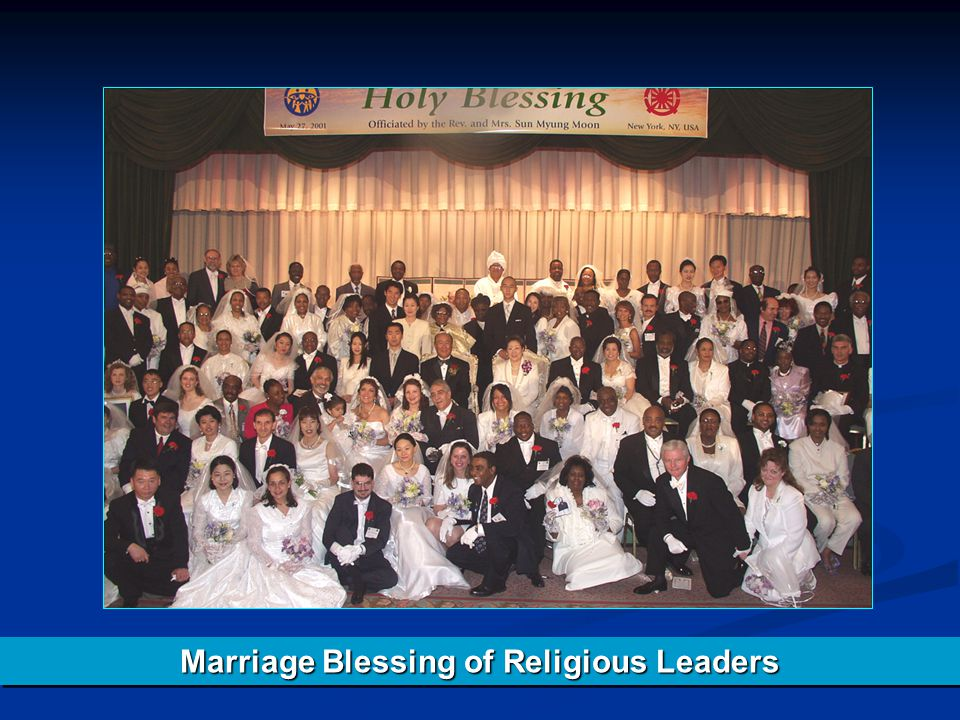 Marriage Blessing of Religious Leaders