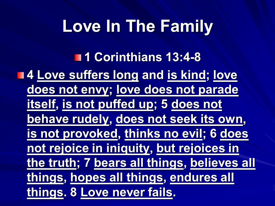 Love Endures All Things Genesis 45:15 Genesis 45:15 Moreover he kissed all his brothers and wept over them, and after that his brothers talked with him.