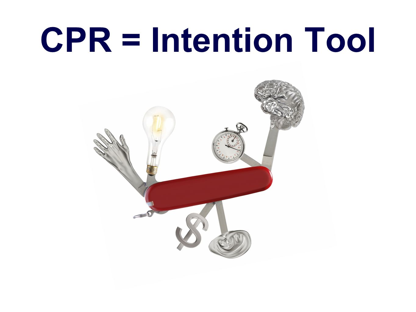 CPR = Intention Tool