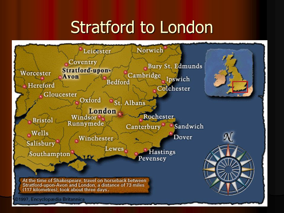 10 Stratford to London