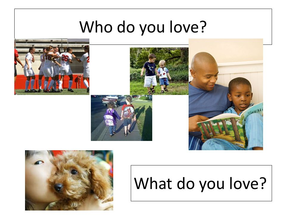 How do you show your love?