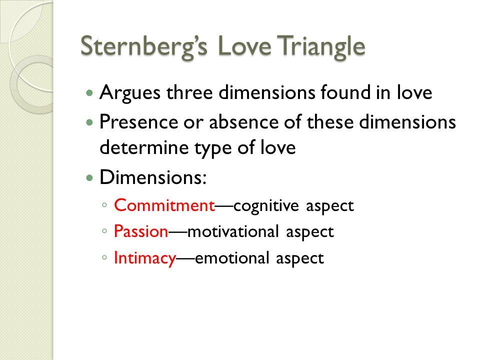 Sternbergs Love Triangle