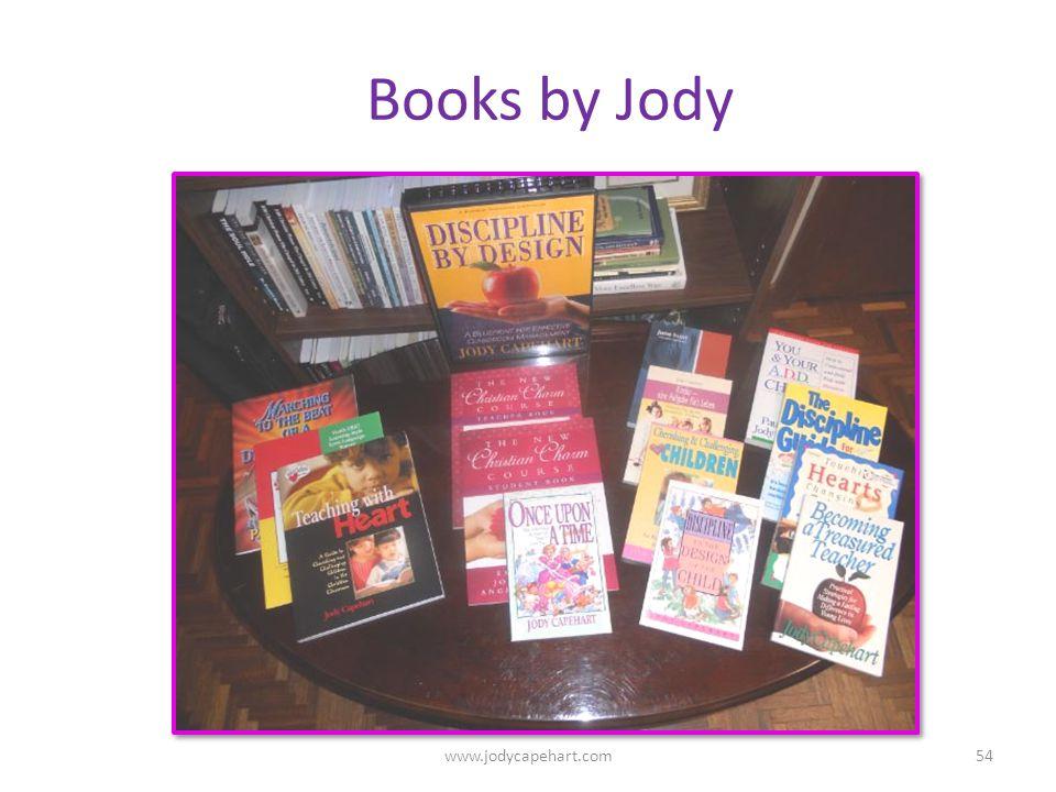 Books by Jody 54www.jodycapehart.com