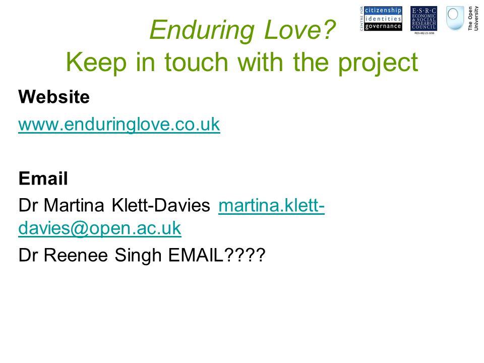 Enduring Love.