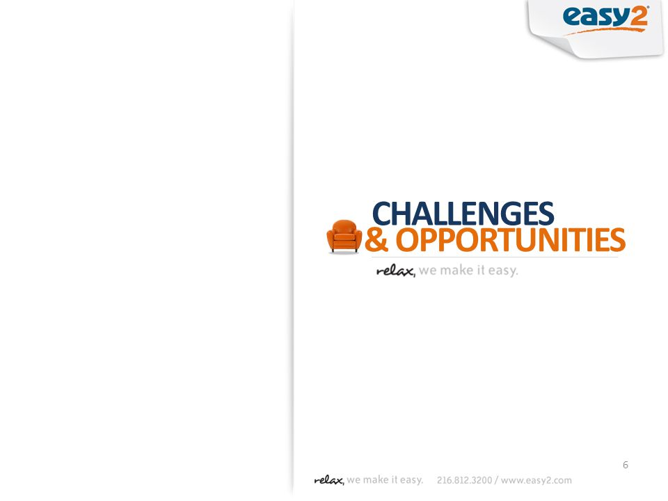 6 CHALLENGES & OPPORTUNITIES