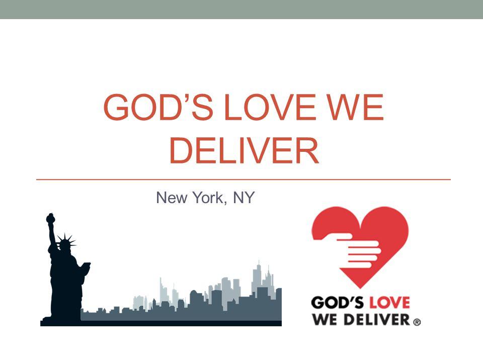 GODS LOVE WE DELIVER New York, NY