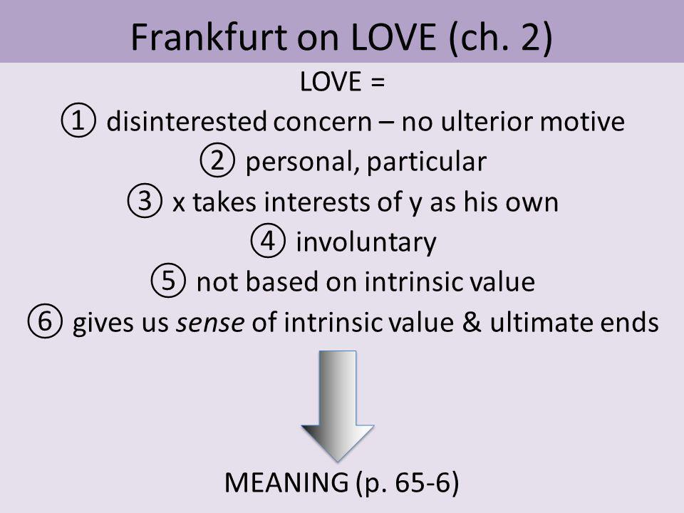 Frankfurt on LOVE (ch.