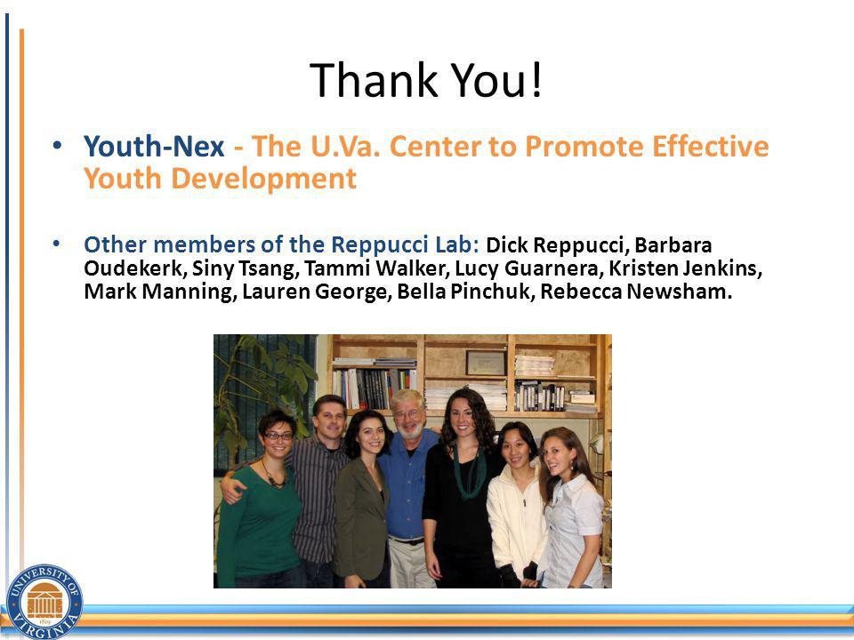 Thank You.Youth-Nex - The U.Va.