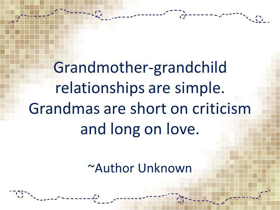 I don t intentionally spoil my grandkids.
