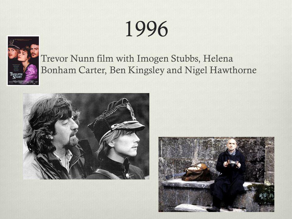 1996 Trevor Nunn film with Imogen Stubbs, Helena Bonham Carter, Ben Kingsley and Nigel Hawthorne