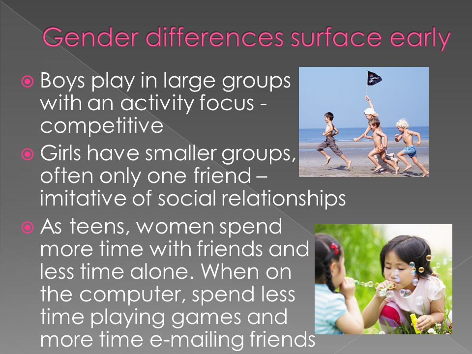 They tend and befriend, turning to others for support Use conversation to explore relationships while men use it to communicate solutions.
