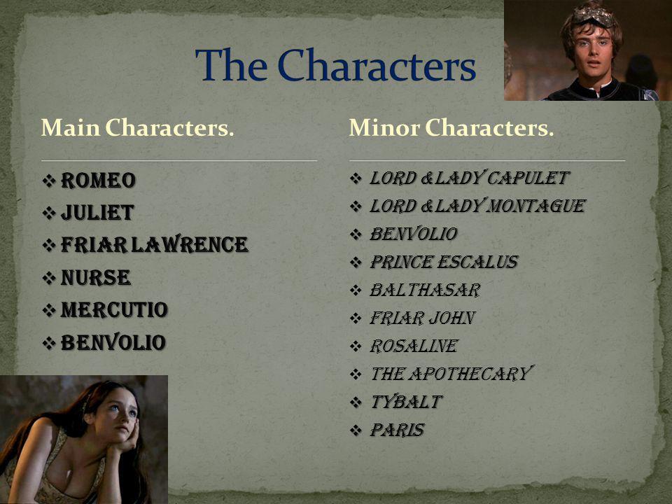 Main Characters.