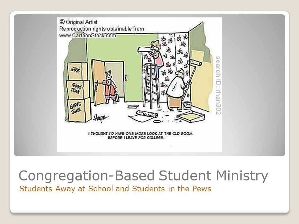 Congregation-Based Student Ministry Students Away at School and Students in the Pews