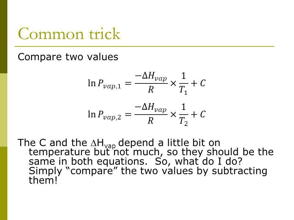 Common trick