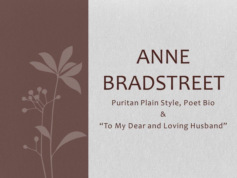 anne bradstreet the heretical poet essay