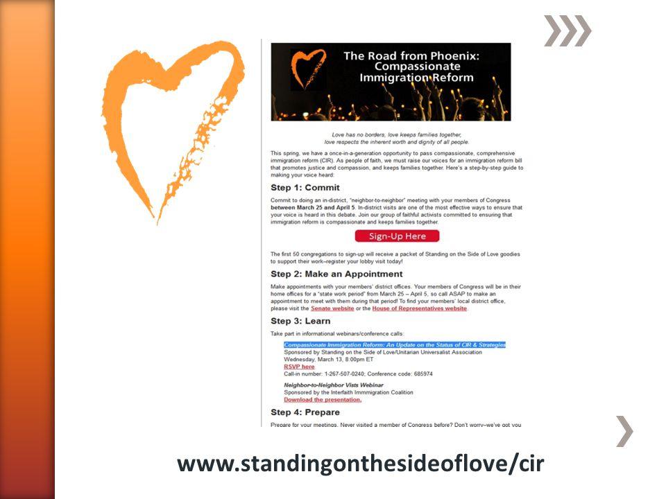 www.standingonthesideoflove/cir