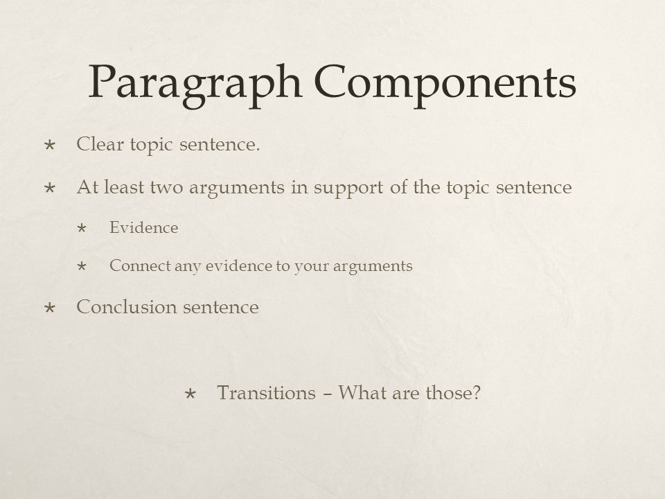 General Requirements No longer than one page in length Double-spaced Word Processed Present Tense Third Person Cite in MLA Documentation