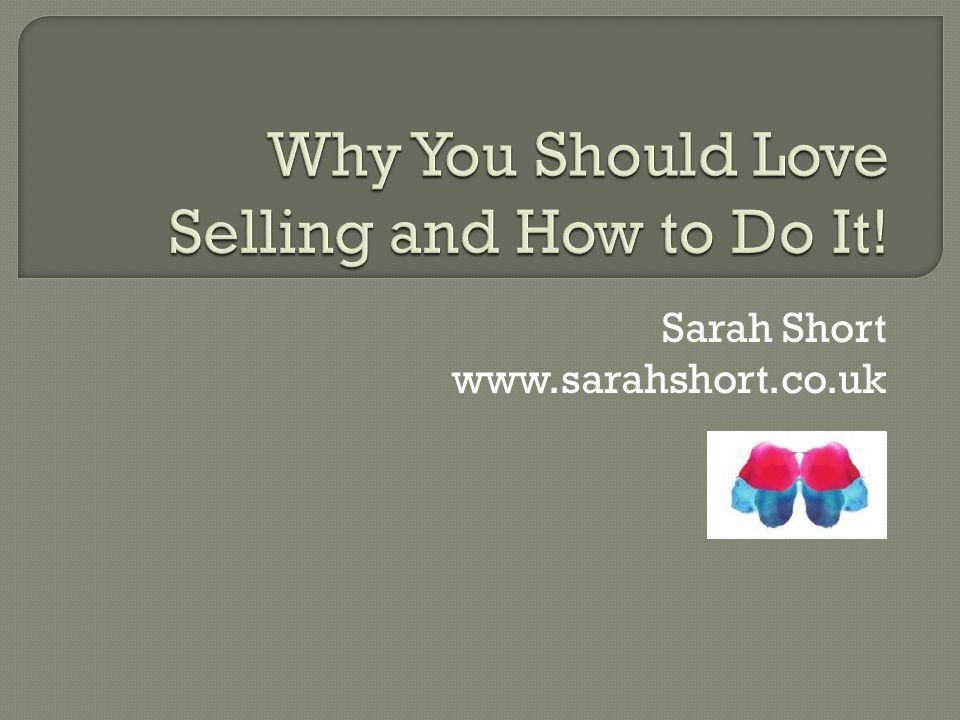 Sarah Short www.sarahshort.co.uk