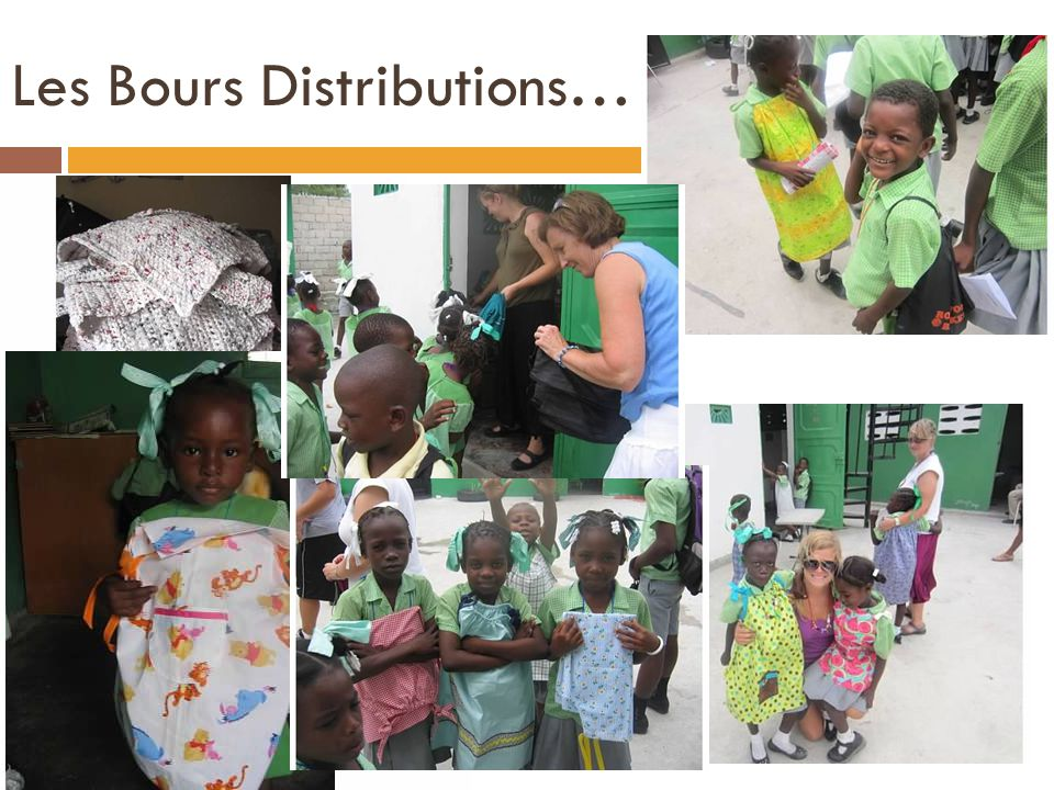 Les Bours Distributions…