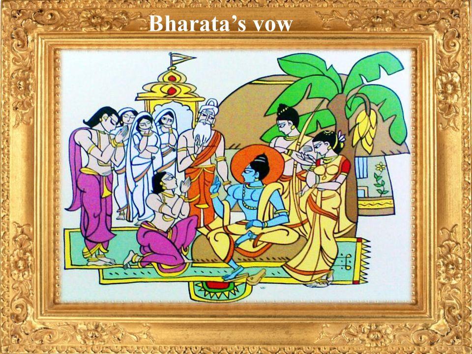 Bharatas vow