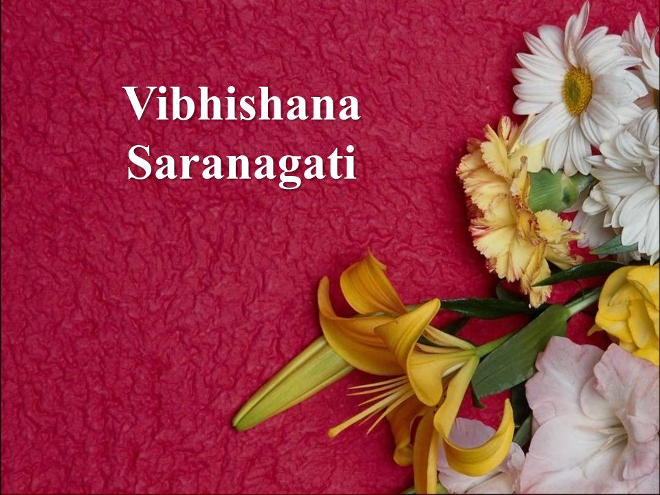 Vibhishana Saranagati