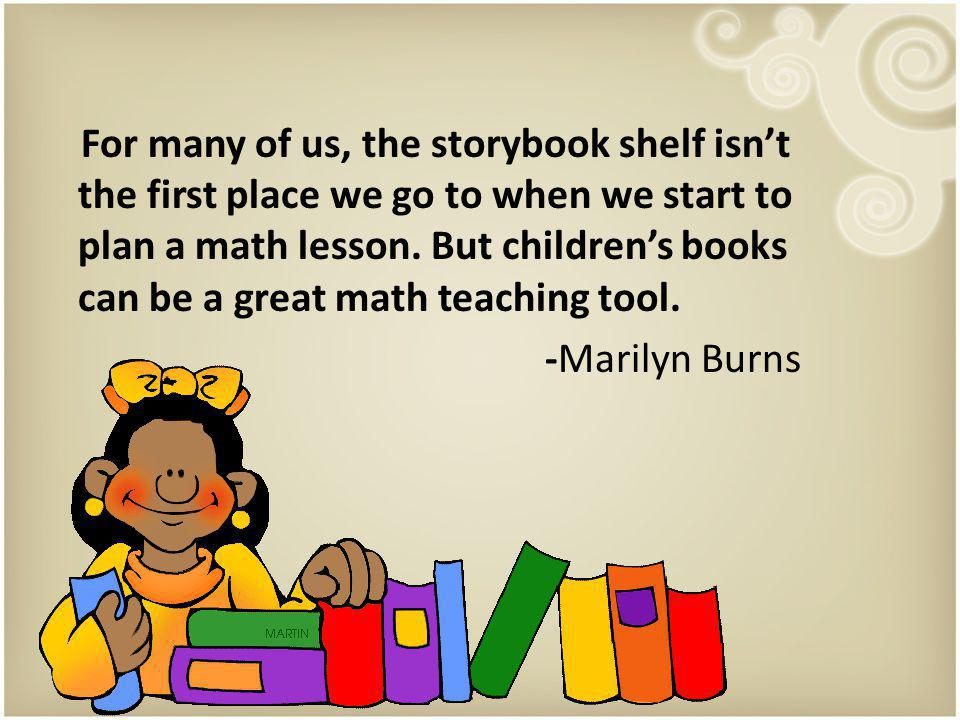 Literature adds some staying power to classroom Math.